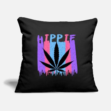 "Hippie Movement hippie - Throw Pillow Cover 18"" x 18"""