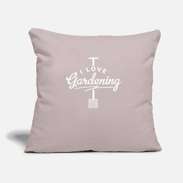 "Gardener Gardener Gardener Gardener Gardener - Throw Pillow Cover 18"" x 18"""