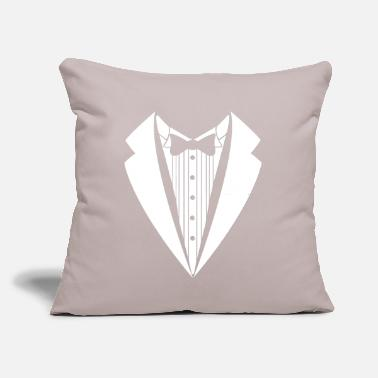 "Suit suit - Throw Pillow Cover 18"" x 18"""