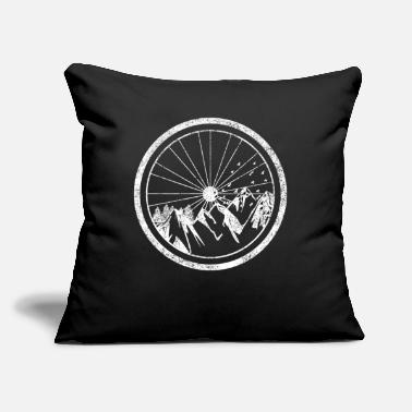 "Cyclist Cyclist - Throw Pillow Cover 18"" x 18"""