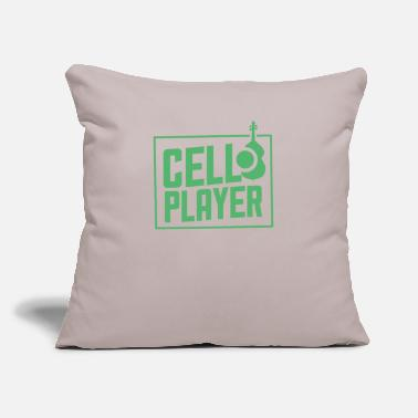 "Instrument Instrument - Throw Pillow Cover 18"" x 18"""