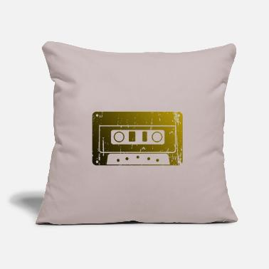 "Cassette cassette - Throw Pillow Cover 18"" x 18"""