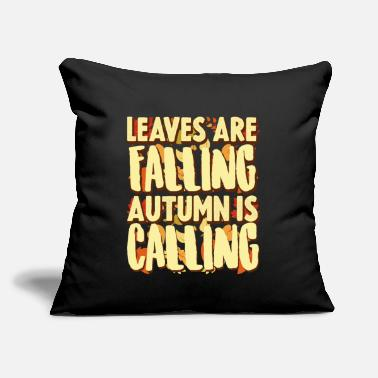 "Fall Fall - Throw Pillow Cover 18"" x 18"""
