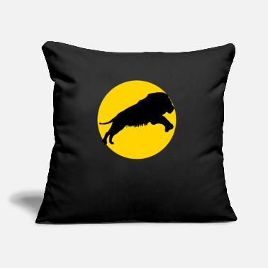 "Mammal mammal and moon - Throw Pillow Cover 18"" x 18"""