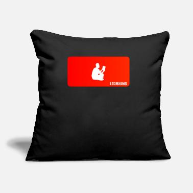 "Learn learning - Throw Pillow Cover 18"" x 18"""