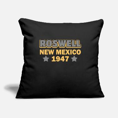 "Roswell New Mexico Roswell New Mexico 1947 Incident - Throw Pillow Cover 18"" x 18"""