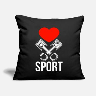 "Motor Sport motor sport - Throw Pillow Cover 18"" x 18"""