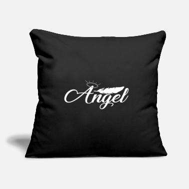 "Angel Angel Angel - Throw Pillow Cover 18"" x 18"""