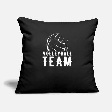 "Volleyball Team Volleyball Team - Throw Pillow Cover 18"" x 18"""