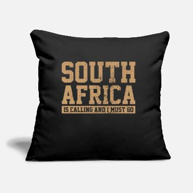 "South Africa South Africa - Throw Pillow Cover 18"" x 18"""