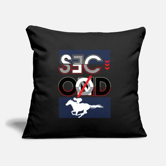"Birthday Pillow Cases - Horse, Horse girl, Horserace, horse rider, - Throw Pillow Cover 18"" x 18"" black"