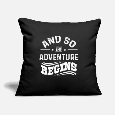 "Travel Travel - Throw Pillow Cover 18"" x 18"""