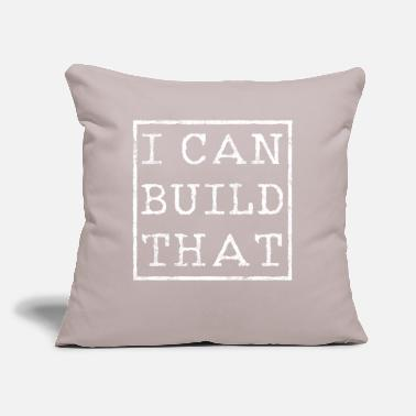 "Hobbyists Carpenter Craftsman Hobbyist - Throw Pillow Cover 18"" x 18"""