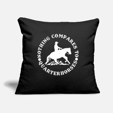 "Western Riding Western Riding, Western - Throw Pillow Cover 18"" x 18"""