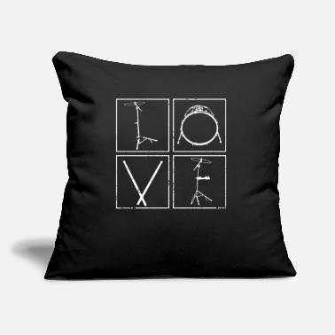 "Drumsticks Drumsticks Drumsticks - Throw Pillow Cover 18"" x 18"""