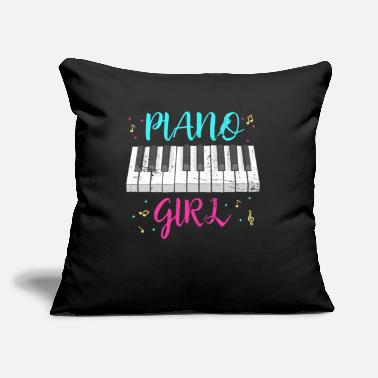 "Piano Piano Piano - Throw Pillow Cover 18"" x 18"""