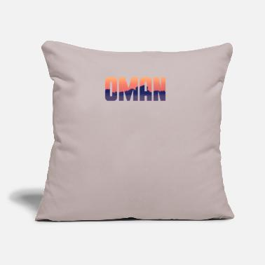"City Official Oman Streetwear - Throw Pillow Cover 18"" x 18"""