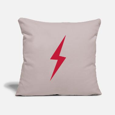 "Lightning Lightning - Throw Pillow Cover 18"" x 18"""