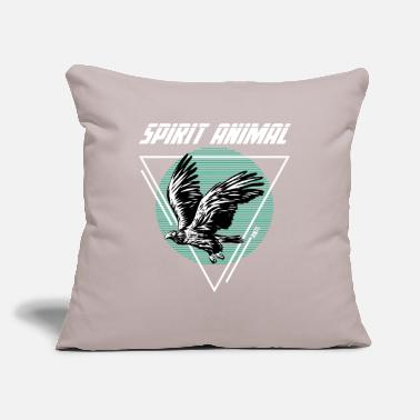 "Rescue Hawk - Throw Pillow Cover 18"" x 18"""