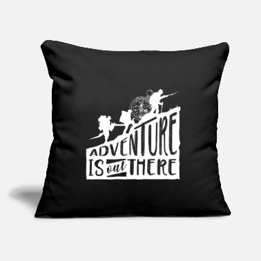 "Hiking Adventure Hiking - Throw Pillow Cover 18"" x 18"""