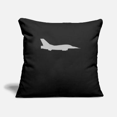 "Jet Jet - Throw Pillow Cover 18"" x 18"""