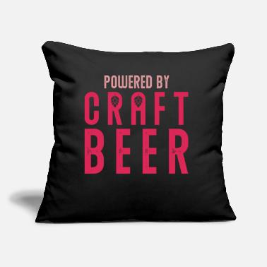 "Mason Pods Beer Craft Beer - Throw Pillow Cover 18"" x 18"""