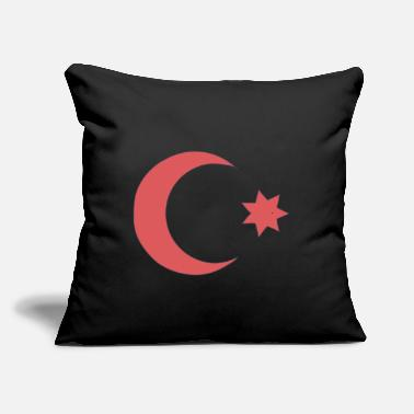"Ottoman Empire - Country Flag - Sultan Dynasty - Throw Pillow Cover 18"" x 18"""
