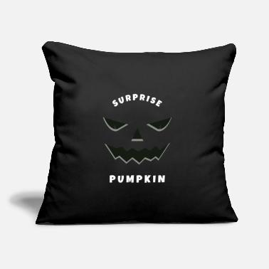 "Movie Surprise pumpkin, halloween gift, horror, scare - Throw Pillow Cover 18"" x 18"""