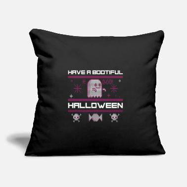 "Zombie Have a bootiful halloween, halloween gift, gost - Throw Pillow Cover 18"" x 18"""