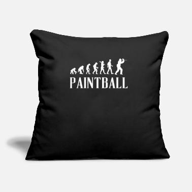 "Cook Paintball Evolution Present Idea - Throw Pillow Cover 18"" x 18"""