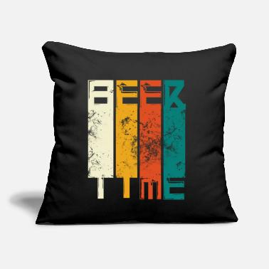 "Tavern Beer time - Beer drinker vintage gift - Throw Pillow Cover 18"" x 18"""