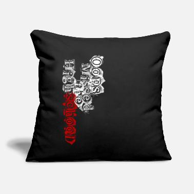 "Highschool Oops Missed the Highschool - Throw Pillow Cover 18"" x 18"""