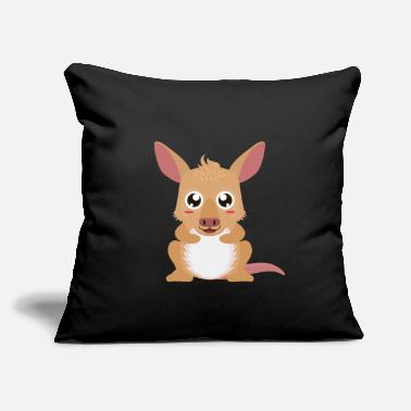 "Characters Aardvark - Throw Pillow Cover 18"" x 18"""