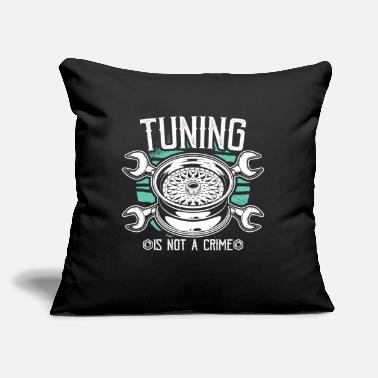 "Tuning Tuning Auto Tuning Car Tuning Tuning Gifts - Throw Pillow Cover 18"" x 18"""