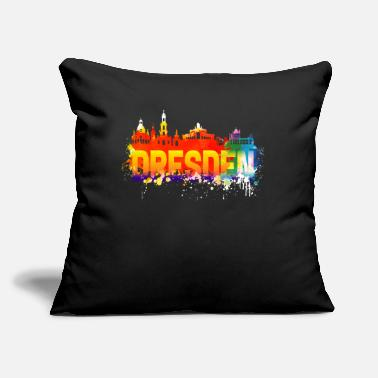 "Saxony Dresden Saxony - Throw Pillow Cover 18"" x 18"""