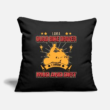"Motorcycle quad atv racing offroad vehicles motorsport - Throw Pillow Cover 18"" x 18"""