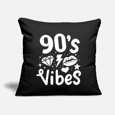 "90 90s 90's - Throw Pillow Cover 18"" x 18"""