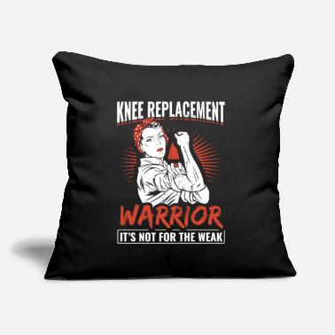 "Knee Knee Knee Replacement - Throw Pillow Cover 18"" x 18"""