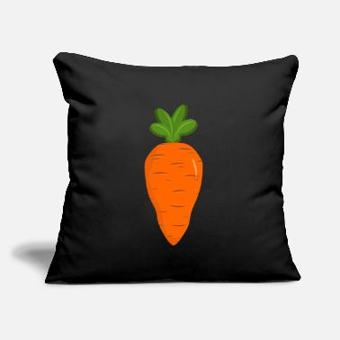 "Carrot Carrot - Throw Pillow Cover 18"" x 18"""