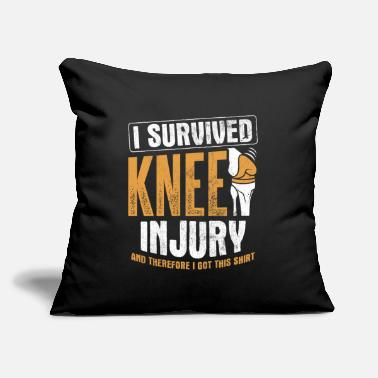 "Knee Surgery Knee Replacement Knee - Throw Pillow Cover 18"" x 18"""