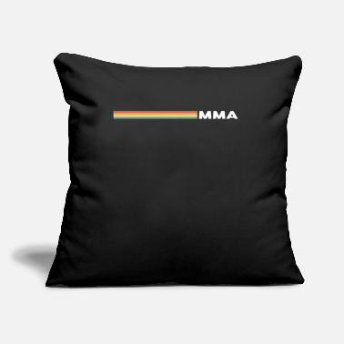 "Craze Mma Hipster Striped - Throw Pillow Cover 18"" x 18"""