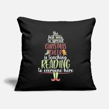 "Literature Snow Books Are Calling Literature - Throw Pillow Cover 18"" x 18"""
