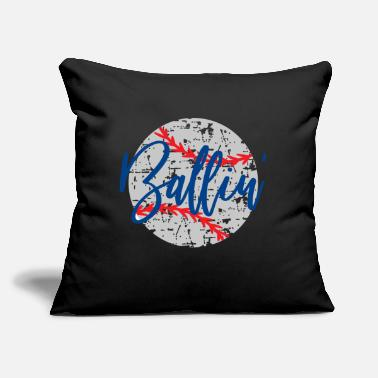 "Baseball Baseball Baller, Baseball, Baseball Ballin - Throw Pillow Cover 18"" x 18"""