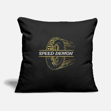 "Speed Demonz - Throw Pillow Cover 18"" x 18"""
