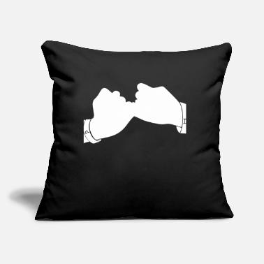"Swear swear an appointment - Throw Pillow Cover 18"" x 18"""