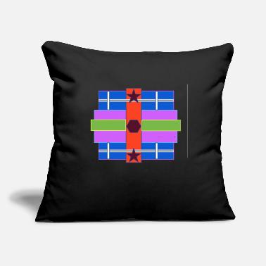 "Shape Shapes - Throw Pillow Cover 18"" x 18"""