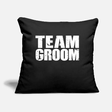 "Hen Night Team Groom Bachelorette Party Hen Night Gift - Throw Pillow Cover 18"" x 18"""