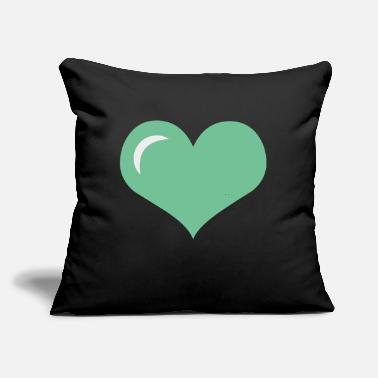 "Cuore Cuore Love - Throw Pillow Cover 18"" x 18"""