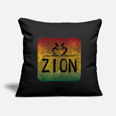 "Zion zion - Throw Pillow Cover 18"" x 18"""