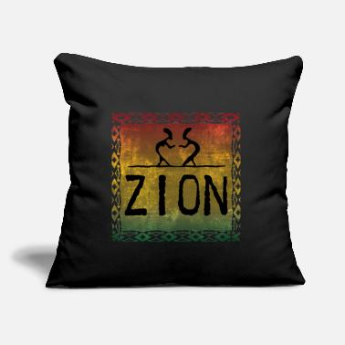 "Zion zion dance - Throw Pillow Cover 18"" x 18"""